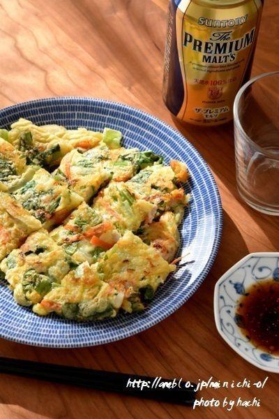 豚肉と小松菜のチーズチヂミ by hachiさん   レシピブログ - 料理 ...