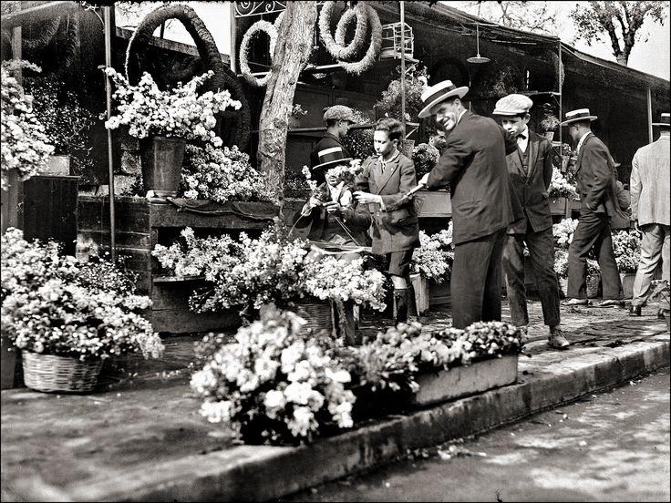 Greek Flower Sellers1928