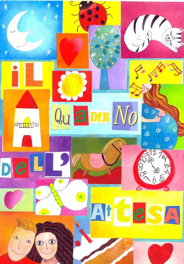 Il quaderno dell'attesa - book cover by Tiziana Rinaldi