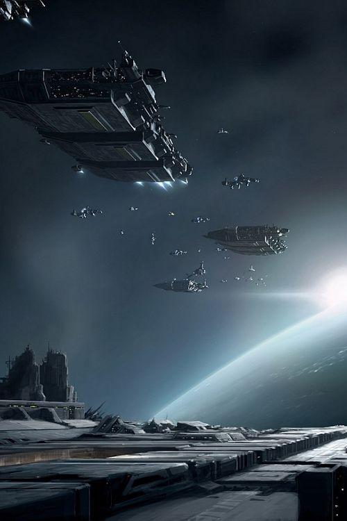 spaceship rendezous