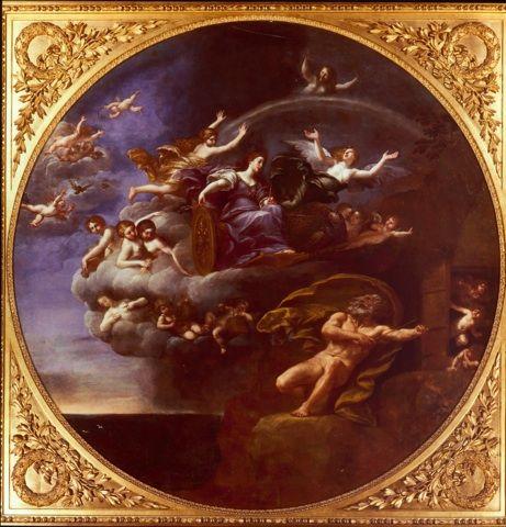 Francesco Albani (1578-1660) Allégorie de l'Air  Galleria Sabauda Turin