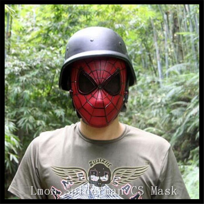 ==> [Free Shipping] Buy Best Free shipping Cosplay children and adult Spiderman mask /Spider-Man Movies Mask Cosplay Halloween Party Supplies CS Cool Mask Online with LOWEST Price | 32656021789