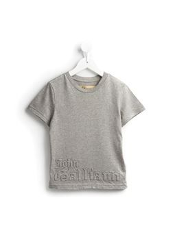stitched logo T-shirt