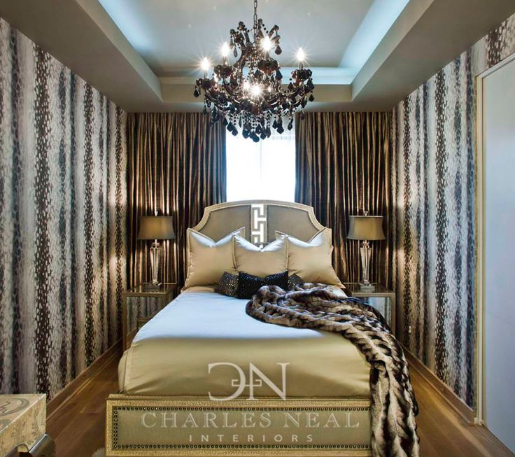 Luxurious Bedroom Design In A Small Space Charles Neal