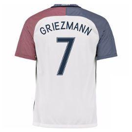 2016-17 France Away Shirt (Griezmann 7) - Kids