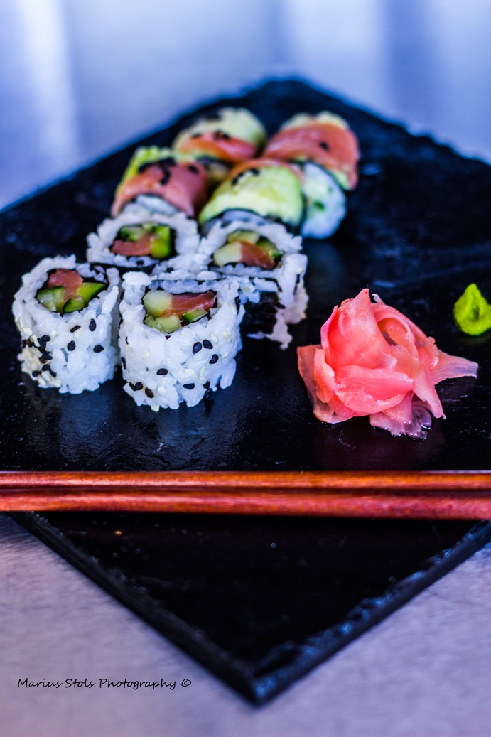 Sushi, yum. For some.