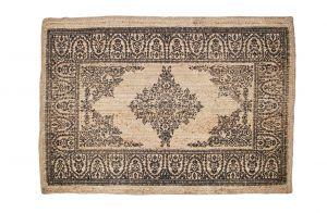 Motive vloerkleed sisal met print donkerblauw 180x120 | Be Pure