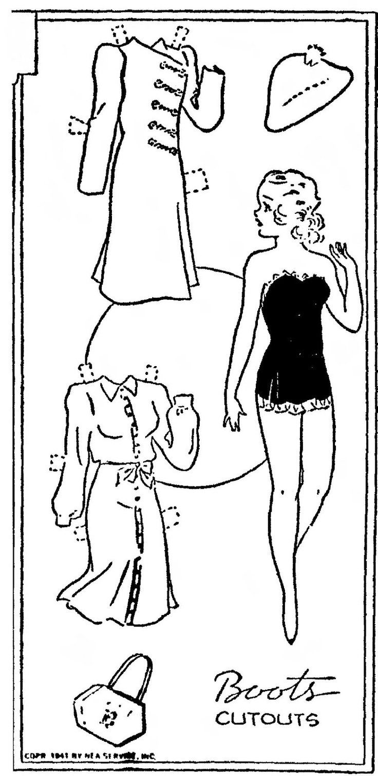 165 best paper doll coloring pages images on pinterest | vintage ... - Paper Doll Clothes Coloring Pages