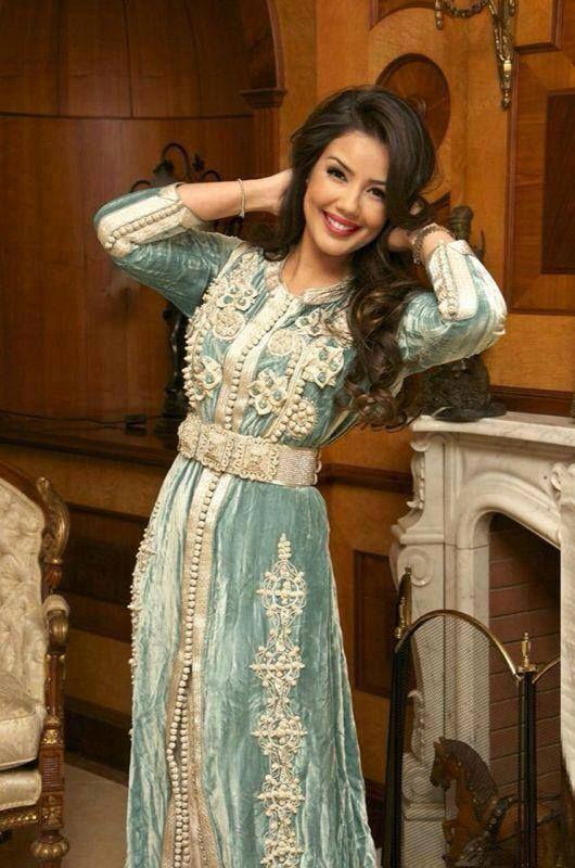 Caftan beldi haute couture et Robe de soirée orientale : Caftan Boutique