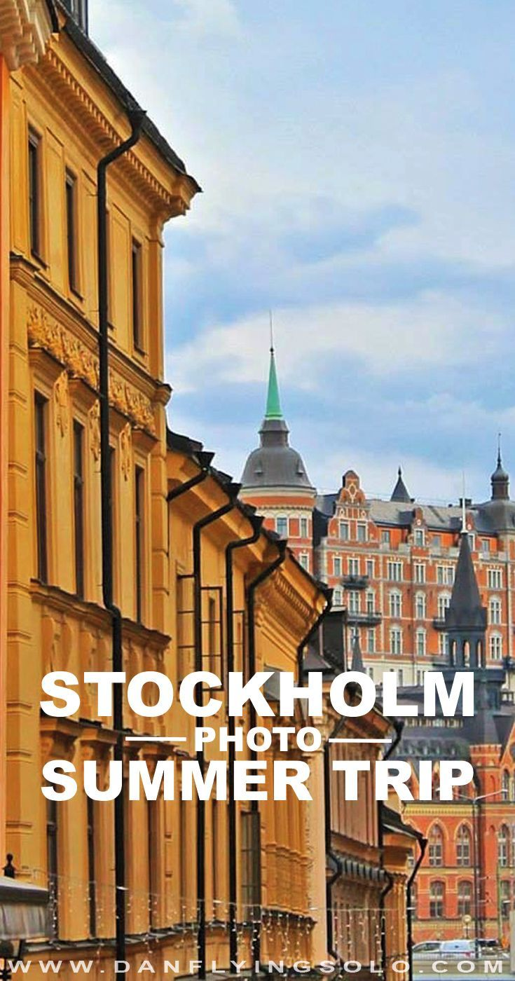 Why you should visit Stockholm in Summer… For the love of coffee, kayaks and the…