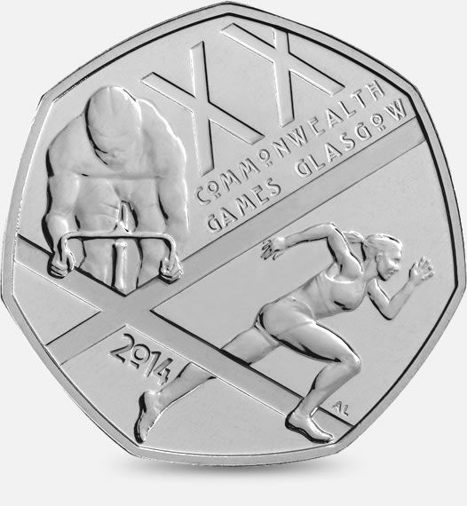 The Glasgow 2014 Commonwealth Games UK 50p #CoinHunt http://www.royalmint.com/shop/The_Great_British_Coin_Hunt_50p
