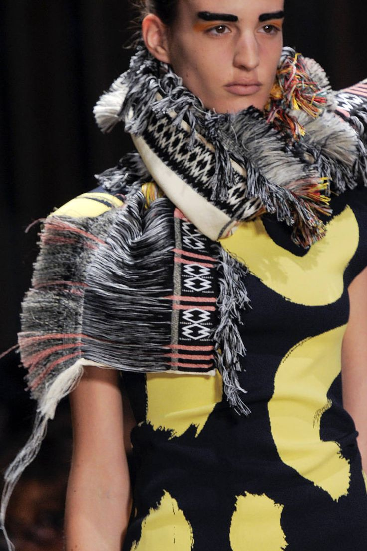 Céline Spring 2014 Trend: Tribal + Graphic Mix