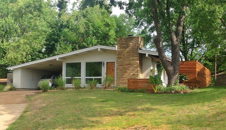 Best 25 modern ranch ideas on pinterest ranch exterior - Mid century modern exterior renovation ...