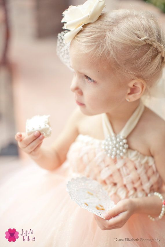 As seen on Wedding Chicks Peach Sweet Sophistication by jujustutus