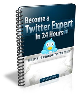 FREE E-Book!! Become A Twitter Expert In 24 Hours!!! Boost your followers and IGNITE your income!!