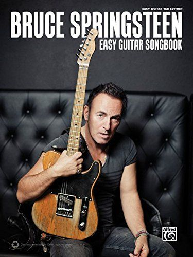 Bruce Springsteen Easy Guitar Songbook: Easy Guitar TAB:   Spanning Bruce Springsteen's amazing career, this book contains 27 of his best songs, all arranged in an easy guitar TAB format. Titles: 4th of July, Asbury Park (Sandy) * Atlantic City * Badlands * Better Days * Blinded by the Light * Born in the U.S.A. * Born to Run * Brilliant Disguise * Dancing in the Dark * Glory Days * Human Touch * Hungry Heart * Lucky Town * My City of Ruins * My Hometown * Pink Cadillac * Prove It All ...