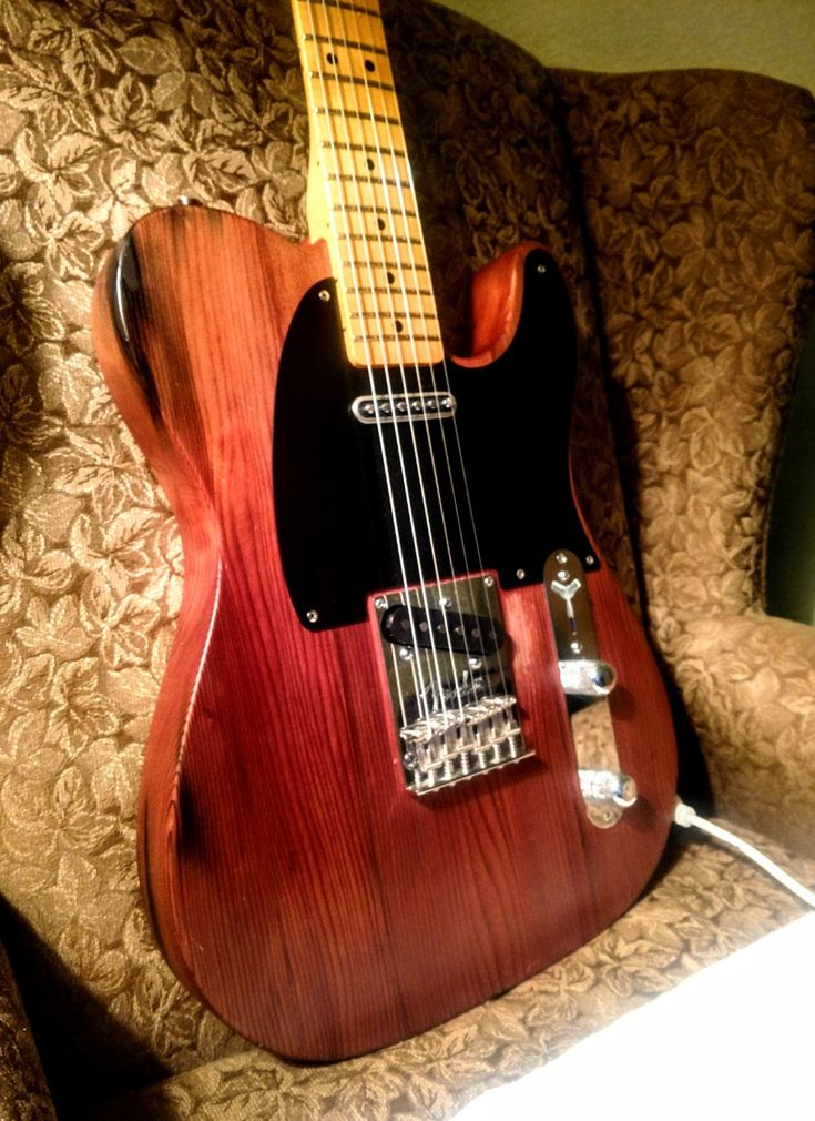 Telebration Reclaimed Old Growth Telecaster, 2011, with Porter T-90 Pickups...tone machine!