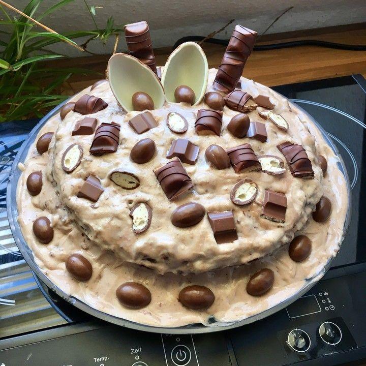 Kinderschokolade Torte Von Perniyan Chefkoch Rezept Kinderschokolade Kinder Schokolade Lebensmittel Essen
