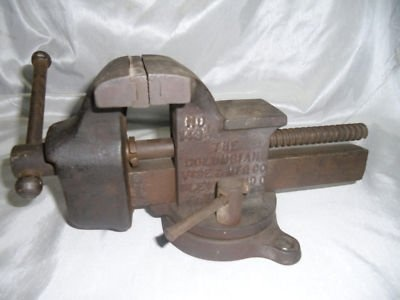 daddy had an iron vice like this one, mounted on his work bench in the garage.  I used it many times myself.  I thought it was the coolest tool ever!