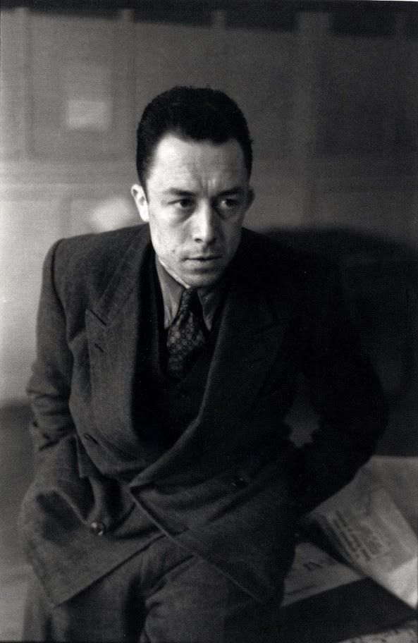"""""""Fiction is the lie through which we tell the truth.""""  — Albert Camus"""