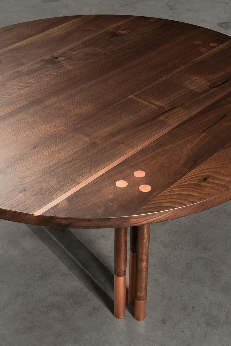 Harkavy furniture focuses on modern pieces made of wood and steel - Canfield Coffee Table