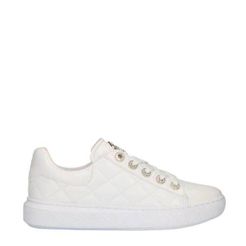 GUESS FJ7BCKPAF12 sneakers witzilver Plateauzolen, Zilver