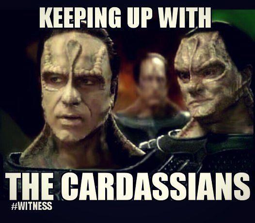 I giggled too much over this. :3  #startrek #trekkie #lulz #memes #kardashian #kuwtk #cardassians #geekhumour #geek #funny #thisshouldbeathing #tvshows #giggles #lol #humor #scifinerd #lovethis #ilaughed #kuwtc #humor #geekhumor