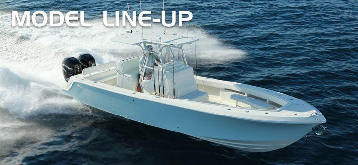 SeaVee Boats - Sport Fishing Boat Models - Center Console - Open Fisherman - Cuddy Cabin - Express Fisherman