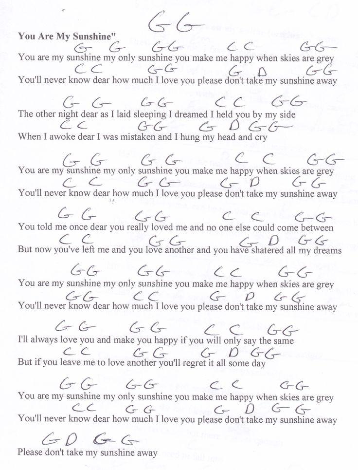 You And I Guitar Chord