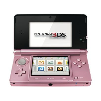 $169.99 target Nintendo 3DS Console - Pearl Pink (Nintendo 3DS)   3DS - Pink wo cradle