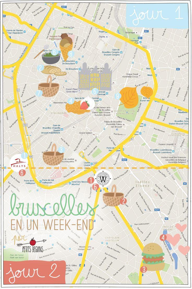 UN WEEKEND À BRUXELLES - JOUR 1