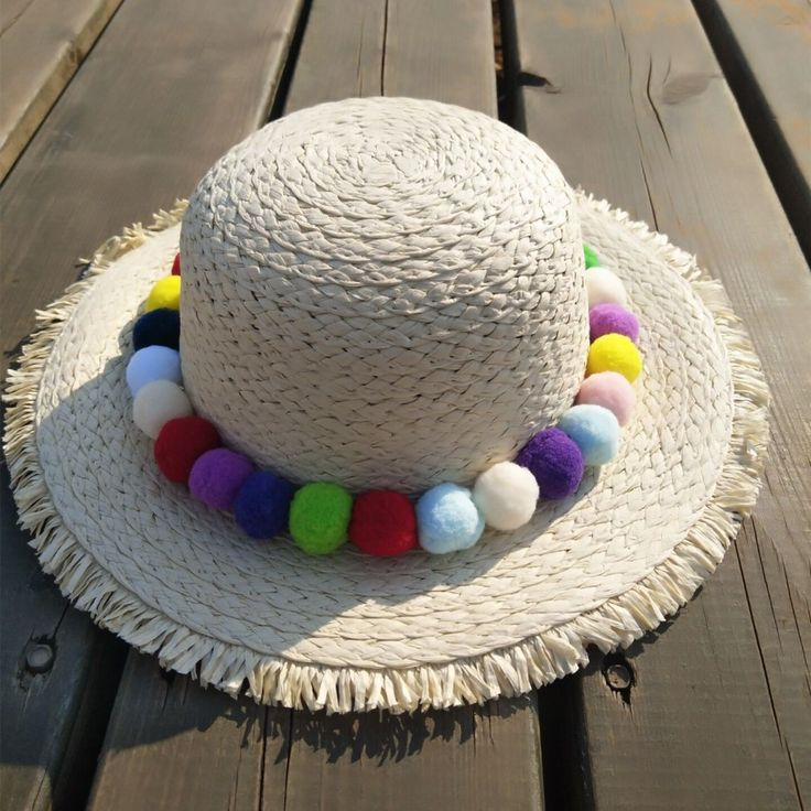 >> Click to Buy << 2017 Girls summer new infant Korean baby girls ballhat children sweet little fresh beach cap sun hat beanies  photography props #Affiliate