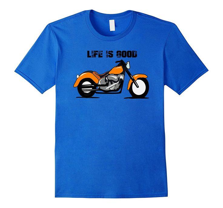 Life is Good Motorbike Shirt