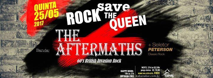 Agitos em Campinas: Balada 25.05 QUI - Rock Save The Queen no Kabana Bar do AgitoBr