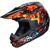 On fire!  Fulmer Helmets, Inc - Helmets - Off Road   www.allsporthelmets.com  - sport helmets for men women and children