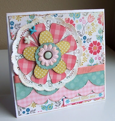 This beautiful card was made by Gail Owens using Kiwi Lane Designer Templates.