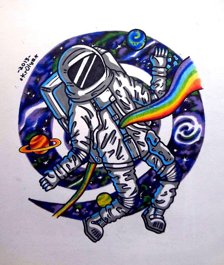 dog astronaut tattoo - photo #33