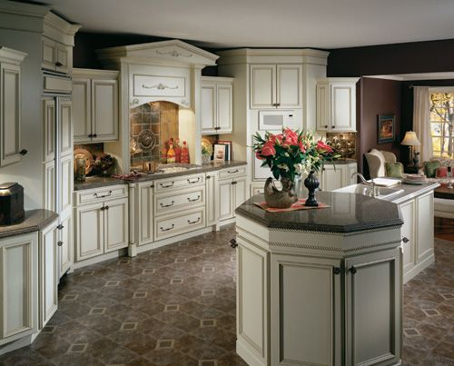 Antique White Cabinet Kitchen