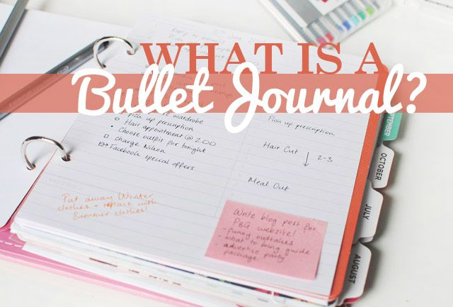 This Fashion is Mine: How to   Get Stuff Done with a Bullet Journal