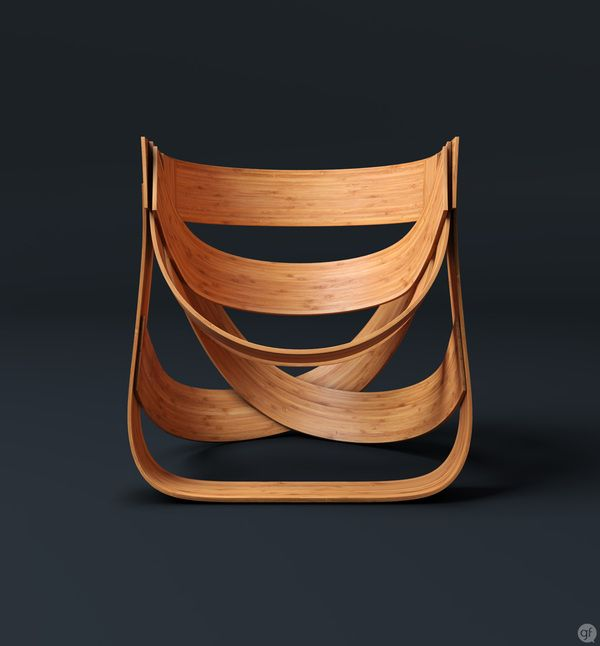 Bamboestoel Chair by Remy. Beautiful and unusual. #tribalchic