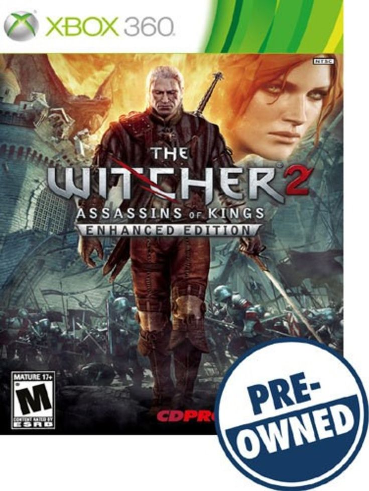 The Witcher 2: Assassins of Kings — PRE-Owned - Xbox 360