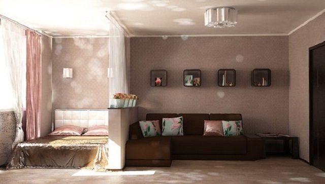 гостиная-спальня: 26 тыс изображений найдено в Яндекс.Картинках