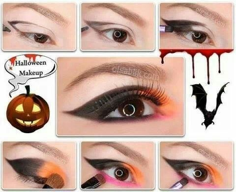 halloween makeup tutorial makeup for halloween photos ideas idea - Eyeshadow For Halloween