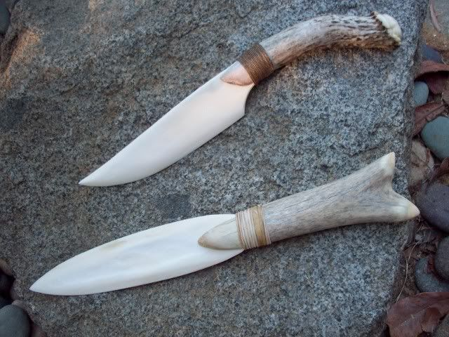 Bone and antler knife. Because giving your characters guns makes it way too easy for them to survive.