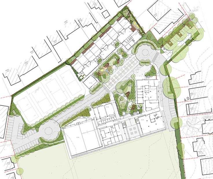 Master Plan Drawings: ASPECT-Studios_Cranbrook_Plan_ASP « Landscape Architecture