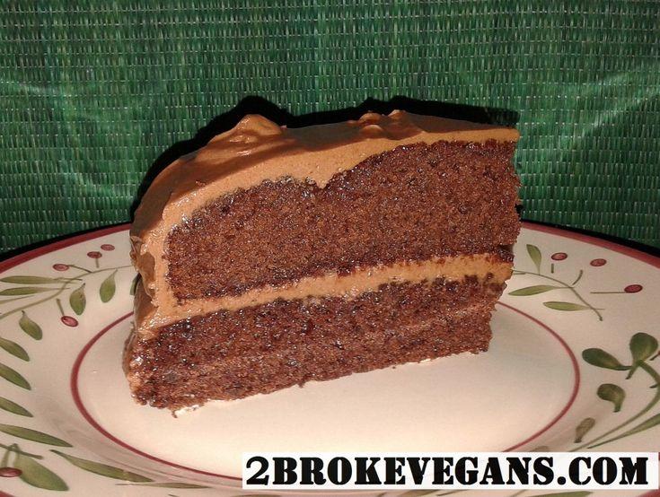 Τούρτα σοκολάτας vegan χωρίς γλουτένη!