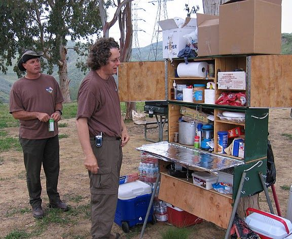 458 best camp kitchen images on pinterest - Camping Kitchen Ideas