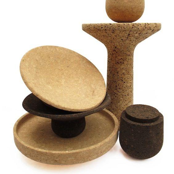 Cork pieces Find the best products here: www.corkway.com #cork #korko #liege #interiordesign #architecture #sustainability