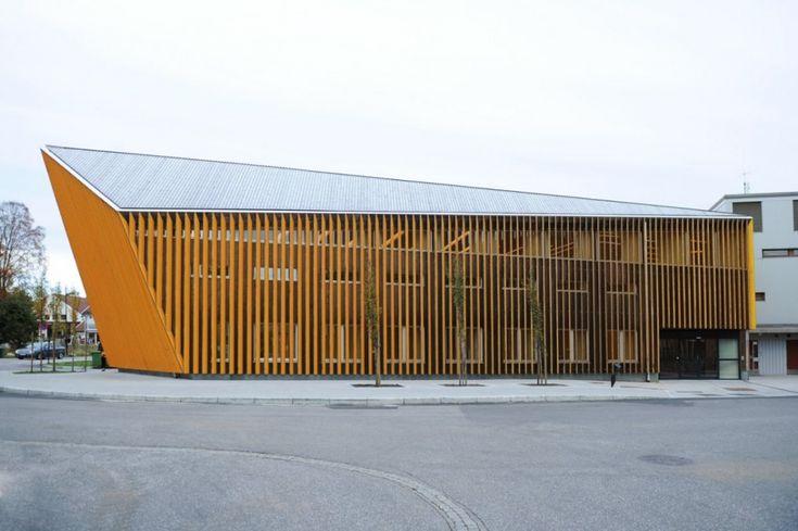 library3 620x412 Library in Vennesla  by Helen & Hard