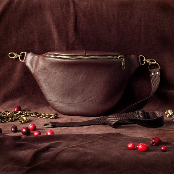 Leather Anacomito Belt Bag  Fanny Pack, Bumbag, Waist Bag